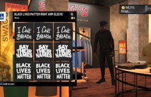 BlackLivesMatter NBA 2k20