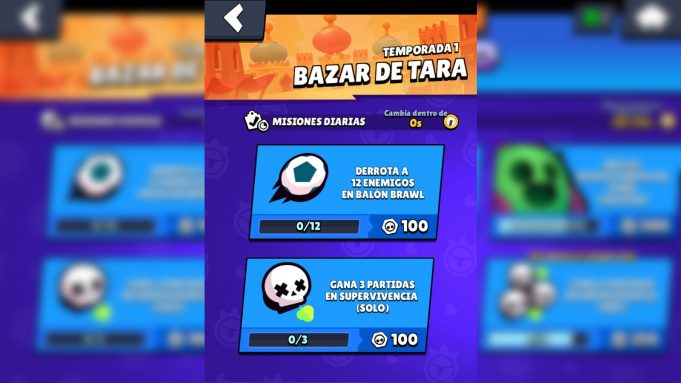 Brawl Pass misiones balón brawl supervivencia