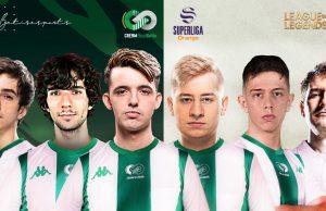 La plantilla de League of Legends de Cream Real Betis