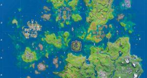 Mapa de Fortnite Temporada 3