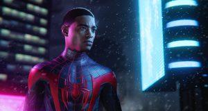Miles Morales en el nuevo Spider-man de PlayStation 5