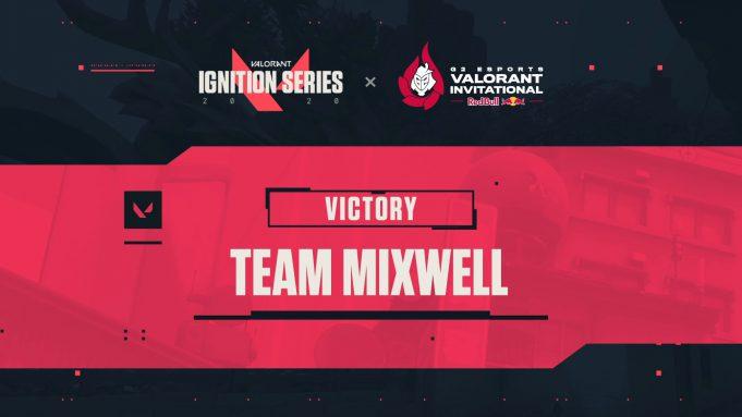 Mixwell gana el Valorant Ignition Series