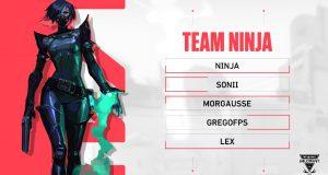Ninja en Valorant