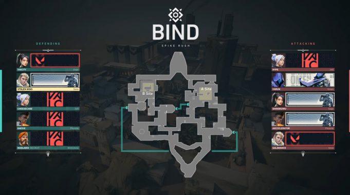 Los mapas dentro de Valorant con el lanzamiento, Spike Rush