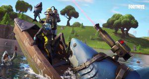 Tiburones en la Temporada 3 de Fortnite