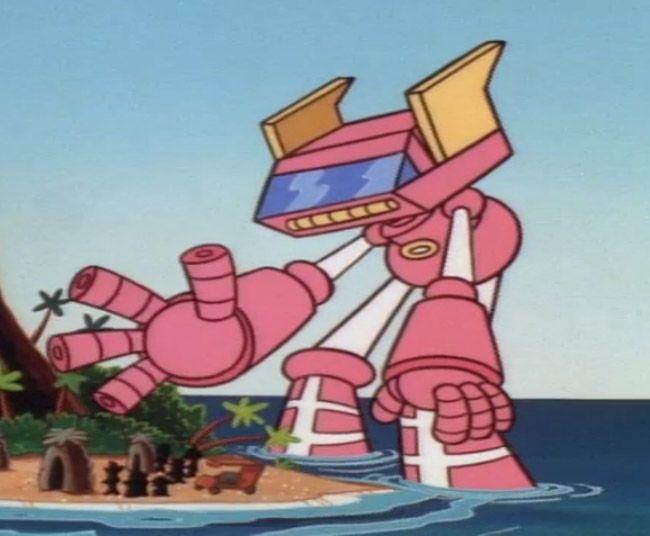 El robot del laboratorio de Dexter