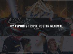La triple renovación de G2 Esports en 2020