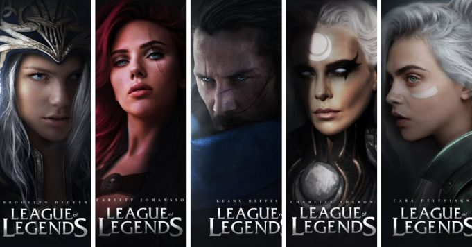La película de League of Legends, ¿qué actores quieres?