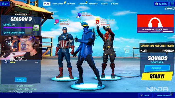 Ninja en YouTube Gaming