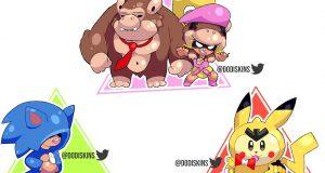 Las skins Nintendo en Brawl Stars