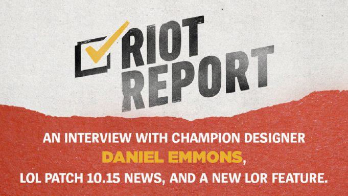 Riot Report
