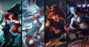 Wild Rift Splash Art censura