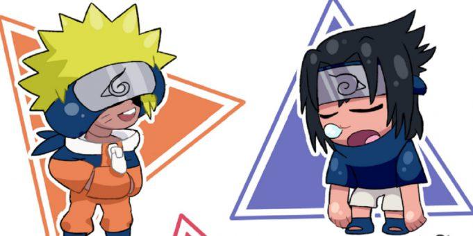 Las skins de Naruto en Brawl Stars