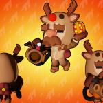 La posible skin navideña de Gale
