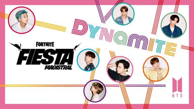 BTS Fortnite Fiesta Magistral