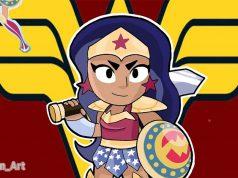 Bibi skin Wonder Woman brawl stars