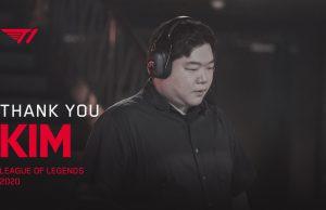 Kim t1 farewell