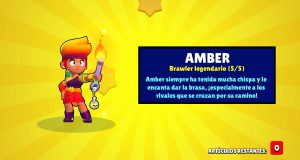 Amber brawler legendario brawl stars