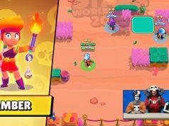 Amber brawler legendario fuego brawl stars