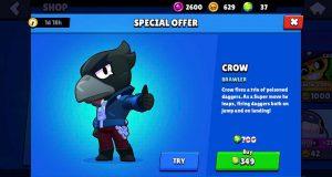 Crow oferta especial brawl stars