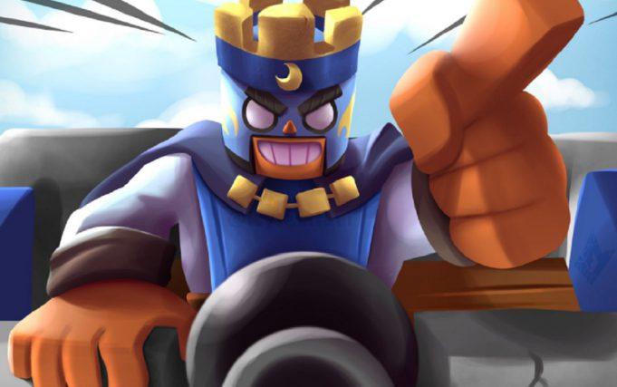 El Primo a lo rey de Clash Royale