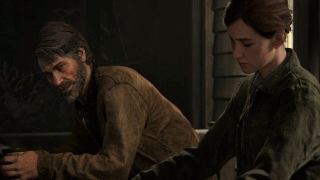 Joel y Ellie, en una escena de The Last of Us: Parte 2.