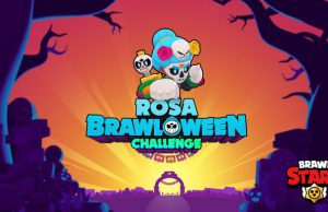 Rosa desafío brawl-o-ween brawl stars