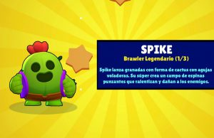 Spike legendario brawl stars