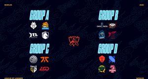 La fase de grupos de los Worlds 2020