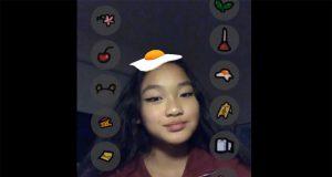 among us filtro snapchat