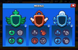 Brawl Stars Medallas runas reforjadas