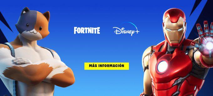 Disney+ gratis Fortnite
