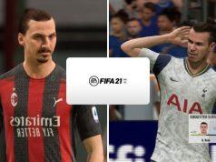 Ibrahimovic y Gale contra FIFA 21
