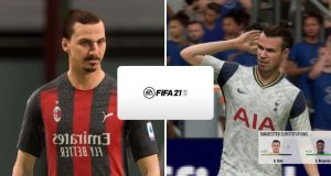 Ibrahimovic y Gale contra FIFA 21