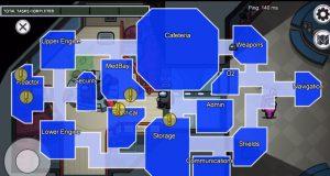 Mapa invertido Among Us