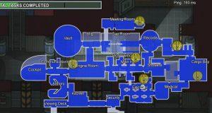 El leak de The Airship, el nuevo mapa de Among Us