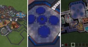 Skeld, el mapa de AMong Us convertido en Minecraft