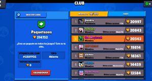 Clubes Brawl Stars Guerra de Clubes