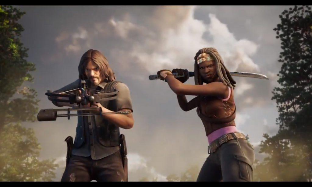 Daryl Dixon Michonne Skins Fortnite