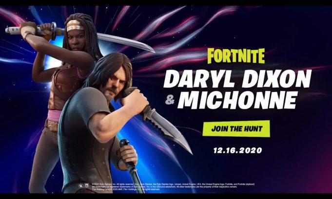 Fortnite Daryl Dixon Michonne Skins