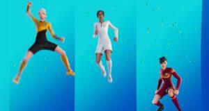 Las skins de fútbol de Fortnite