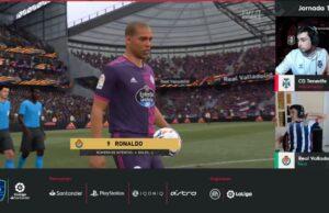 Ronaldo en la eLaLiga Santander
