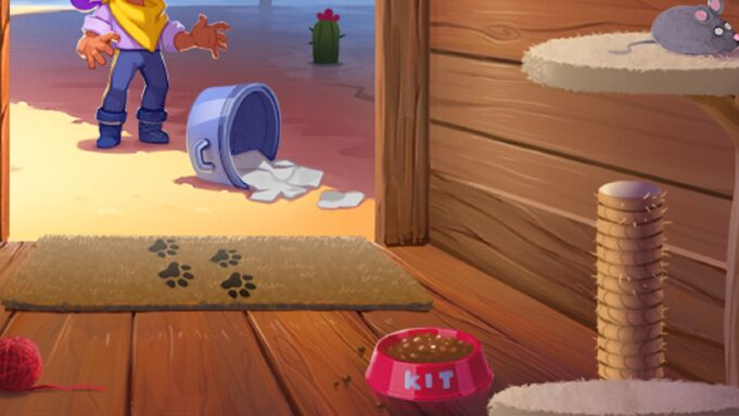 Kit, el gato de Shelly en Brawl Stars