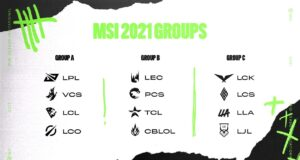 Los grupos del MSI 2021