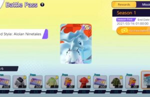 El Battle Pass de Pokémon Unite