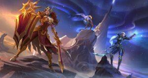 Leona, Diana y Pantheon en Wild Rift