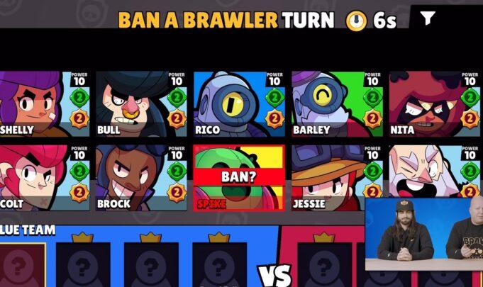 Los pick y bans de Brawl Stars
