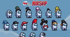 Las skins de The Airship, el cuarto mapa de Among Us