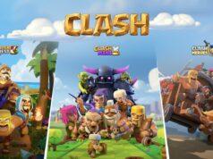 Los 3 nuevos juegos de Supercell con el apellido Clash