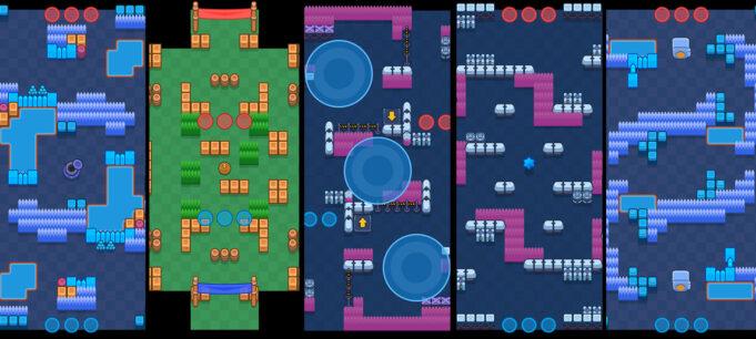 Pool map liga estelar 2 brawl stars